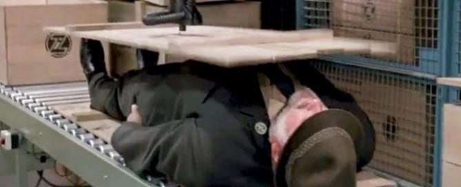 Conveyor in James Bond